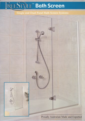 Are there any kinds of bathtub doors that don't have a track